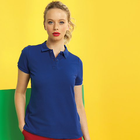Asquith & Fox Women's Poly/Cotton Blend Polo
