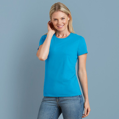 Gildan Ladies Premium Cotton T-Shirt