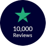 2019 - Reached 10,000 reviews on Trustpilot.