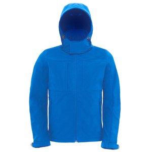 B&C Kids Hooded Soft Shell Jacket