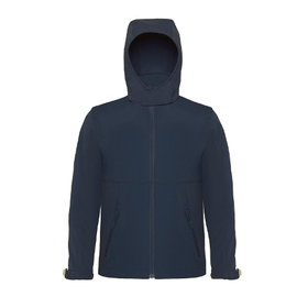 B&C Youth Hooded Soft Shell Jacket