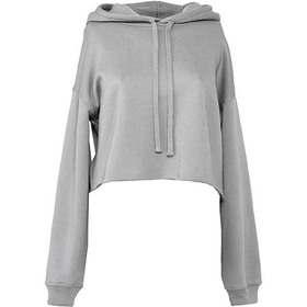 Bella & Canvas Women's Cropped Fleece Hoodie