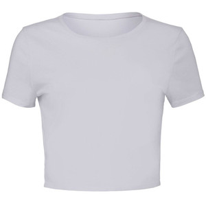 Bella & Canvas Women's Polycotton Crop Tee