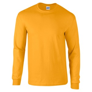 Gildan Mens Heavyweight Long Sleeve T-shirt
