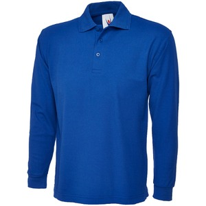 Uneek Long Sleeve Pique Polo